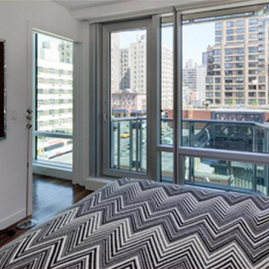 Yves Chelsea Bedroom - 166 West 18th Street Condos for Sale