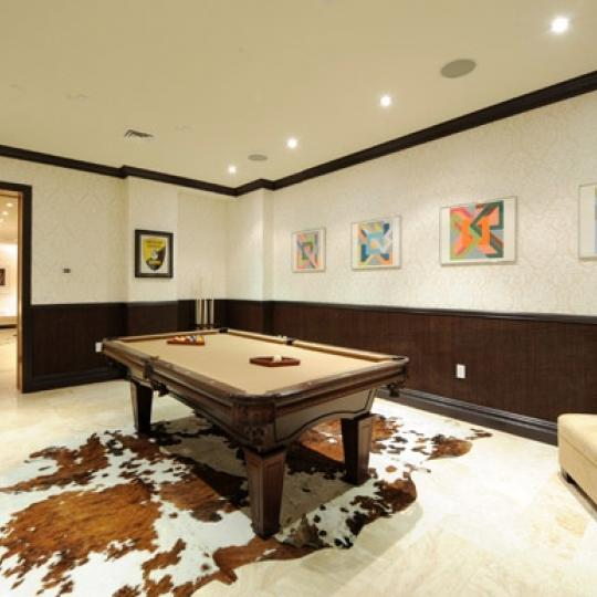 157 East 84th street Billiard Room - NYC Condos for Sale