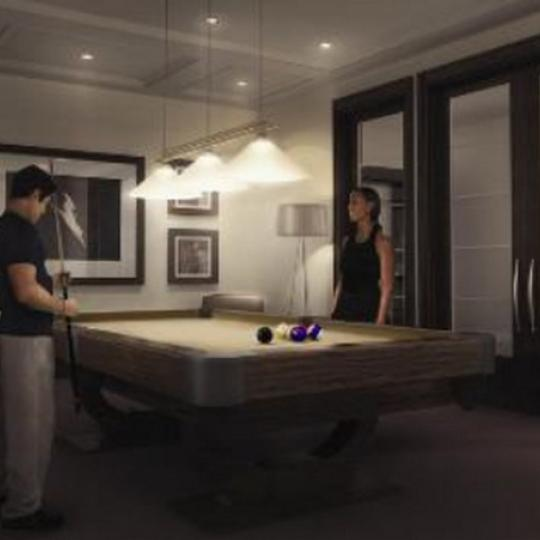 Avery New Construction Building Billiards – NYC Condos