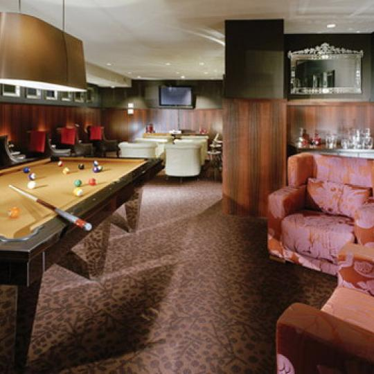 Greenwich Club Residences New Construction Building Billiards – NYC Condos