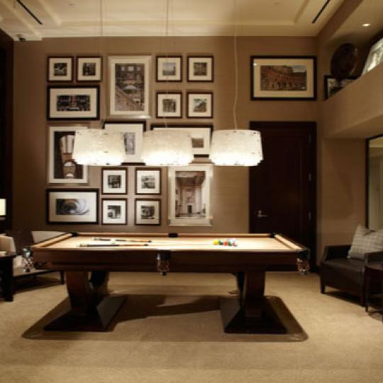 The Rushmore Billiards Room - Manhattan Condos for Sale