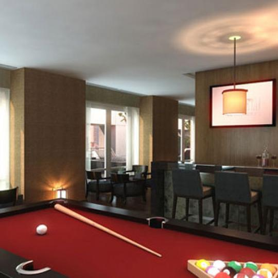 The Setai Fifth Avenue Billiards – Condominiums for Sale NYC