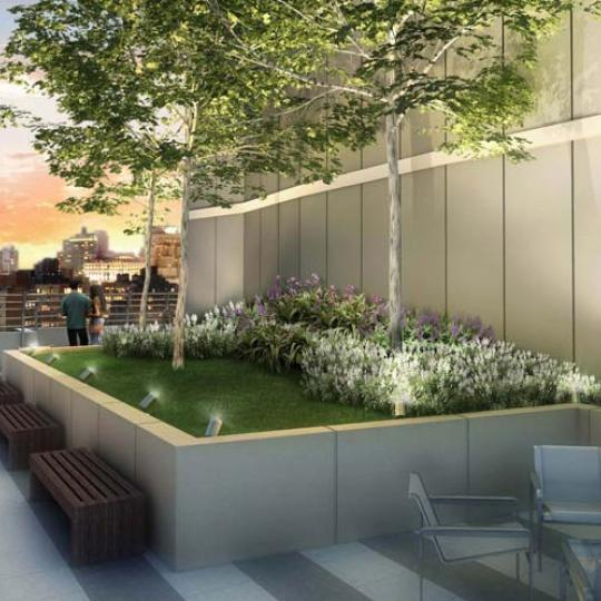 Chelsea Stratus Condominium Roof Garden - Condos for Sale in Chelsea NYC