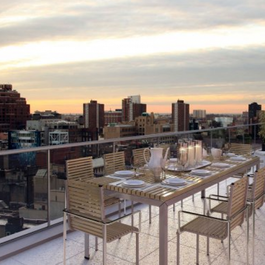Private Terrace - Chelsea Luxury Apartments For Sale