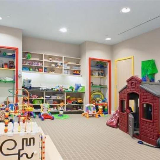 Trump Place New Construction Building Children Playroom - NYC Condos