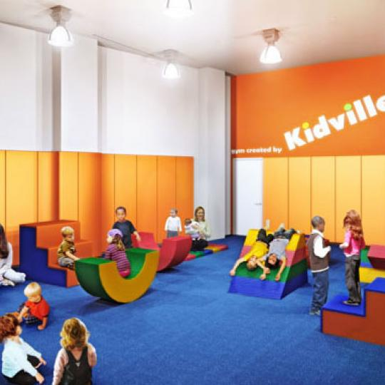 60 Riverside Boulevard Childrens Playroom - NYC Condos for Sale