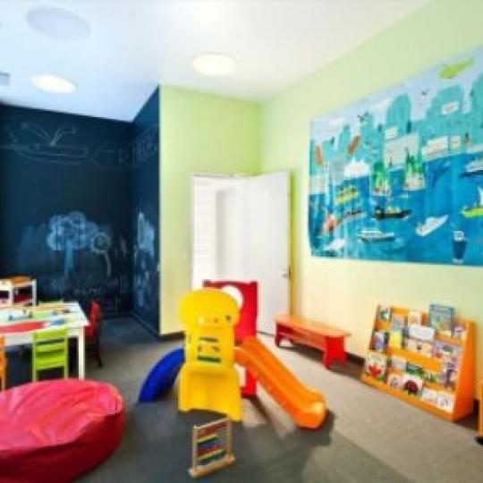 415 Greenwich Street Children Playroom - Manhattan Condos