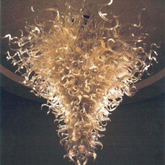 30 Lincoln Plaza Dale Chihuly Chandelier - Manhattan Condos for Sale