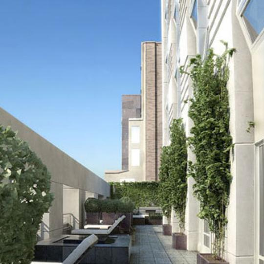 The Setai Fifth Avenue Rooftop Deck - 400 Fifth Avenue Condos for Sale