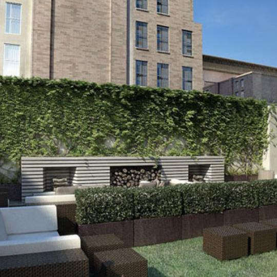 400 Fifth Avenue Condominiums – Rooftop Deck