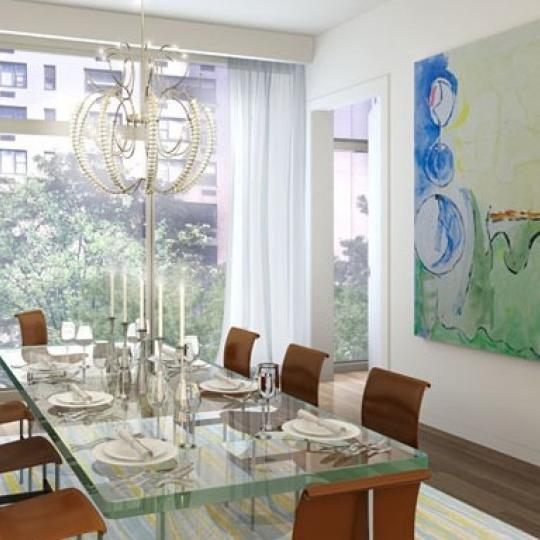 1055 Park Avenue Dining Area - Manhattan New Condos