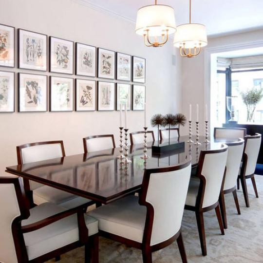 180 East 93rd Street New Construction Building Dining Area - NYC Condos