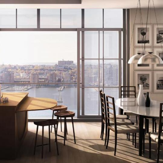 200 Eleventh Avenue New Construction Building Dining Area – NYC Condos