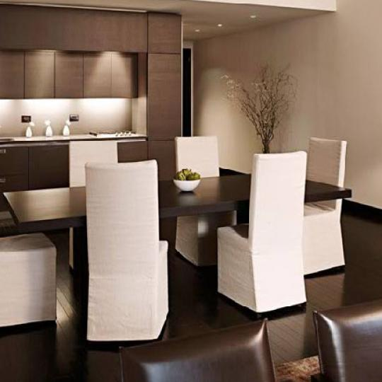 20 Pine Dining Area - Financial District NYC Condominiums