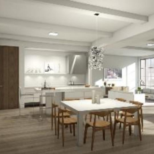 316 East 22nd Street New Construction Building Dining Area – NYC Condos