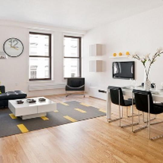 77 Reade Street Dining Area – Manhattan New Condos