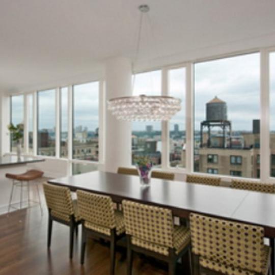 Ariel West Condominiums – Dining Area