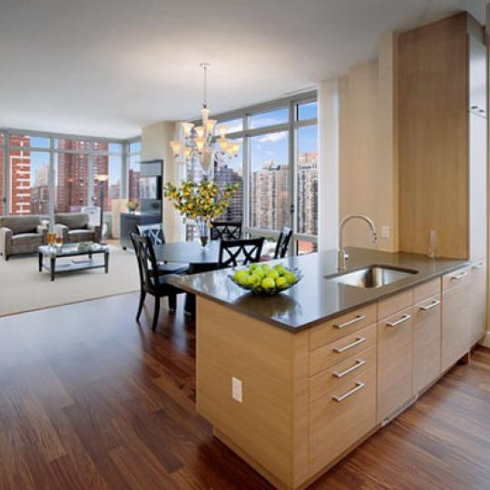 Azure Dining Area - 333 East 91st Street Condos for Sale