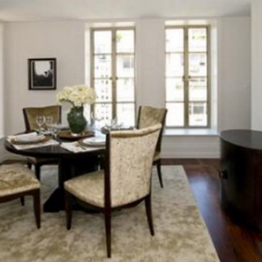 140 East 63rd Street Dining Area – NYC Condos for Sale