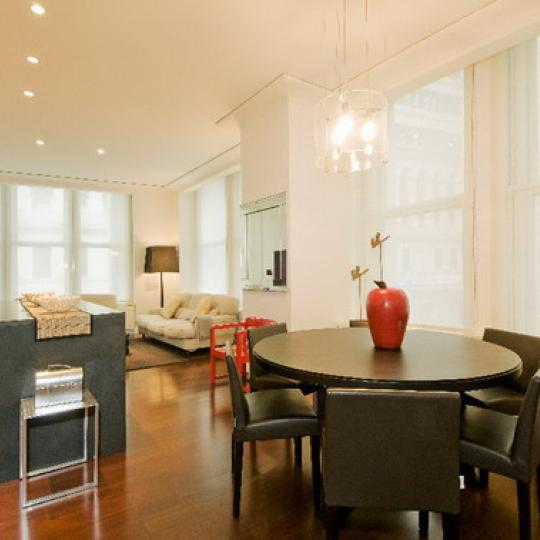 55 Wall Street Dining Area - Financial District NYC Condominiums