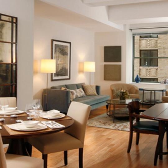 Deco Lofts Dining Area – Manhattan Condos for Sale