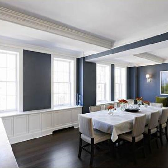 Devonshire House Dining Area - 28 East 10th Street Condos for Sale