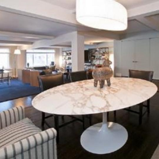 Diamond House Dining Area - 170 East 77th Street Condos for Sale
