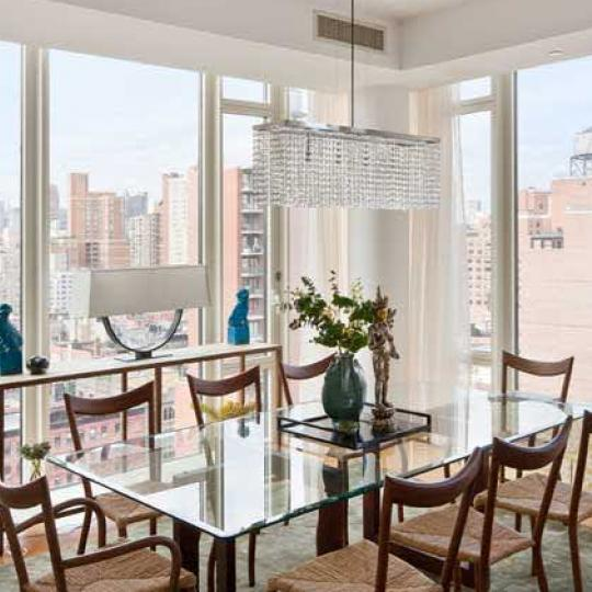 Georgica Dining Area – New Condos for Sale NYC