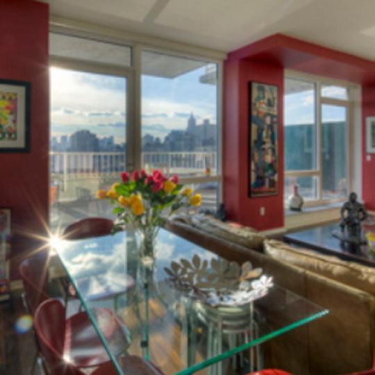 340 East 23rd Street New Construction Condominium Dining Area