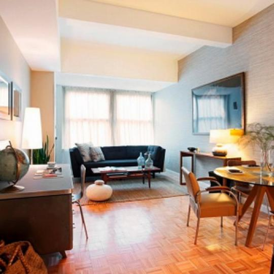 Greenwich Club Residences Dining Area - Financial District NYC Condominiums
