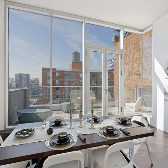 519 West 23rd Street Dining Area – NYC Condos for Sale