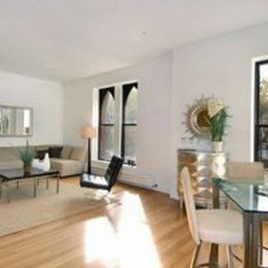 Landmark 17 Living Room - Condominiums for Sale NYC