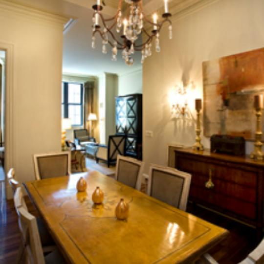 The Beekman Regent Dining Area - Midtown East NYC Condominiums