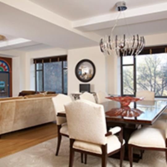 110 Central Park South New Construction Condominium Dining Area