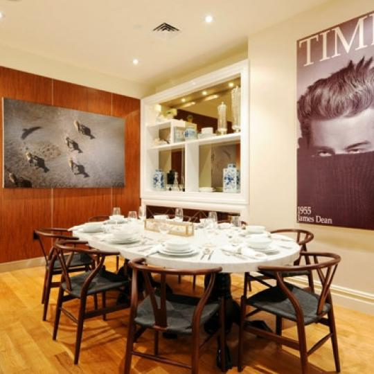 The Legacy Dining Area - Manhattan Condos for Sale