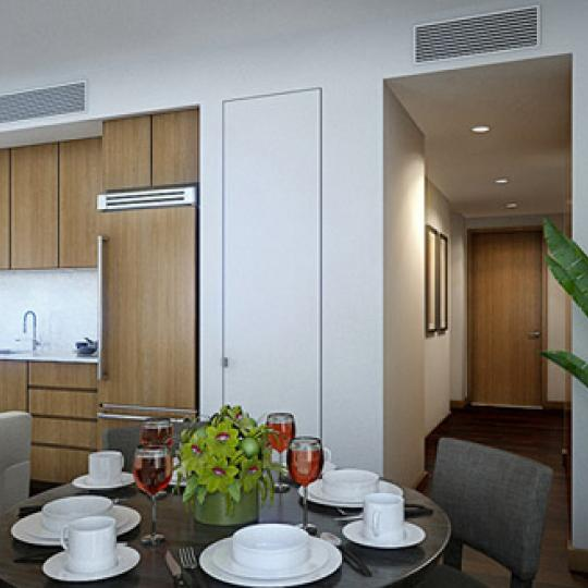 400 Fifth Avenue Dining Area – NYC Condos for Sale