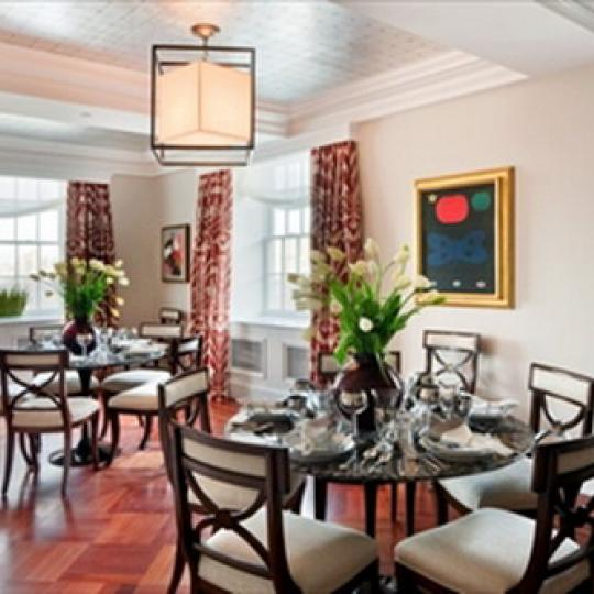 The Stanhope Dining Area - Condos for Sale NYC