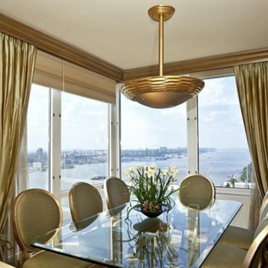 Trump Place Dining Area - New Condos for Sale NYC