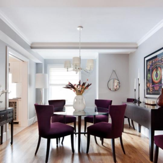 167 East 82nd Street Manhattan - Dining Room at The Merritt House
