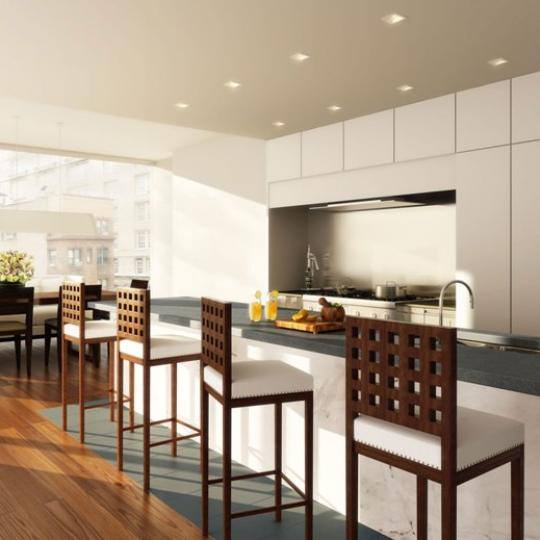 57 Irving Place The Duplex Kitchen - Manhattan New Condos