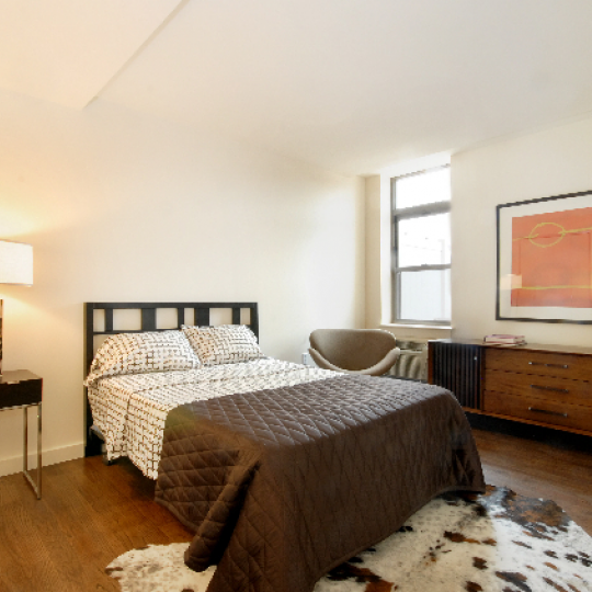 Ellington on the Park - 130 Bradhurst Avenue - NYC Luxury Rentals - Bedroom