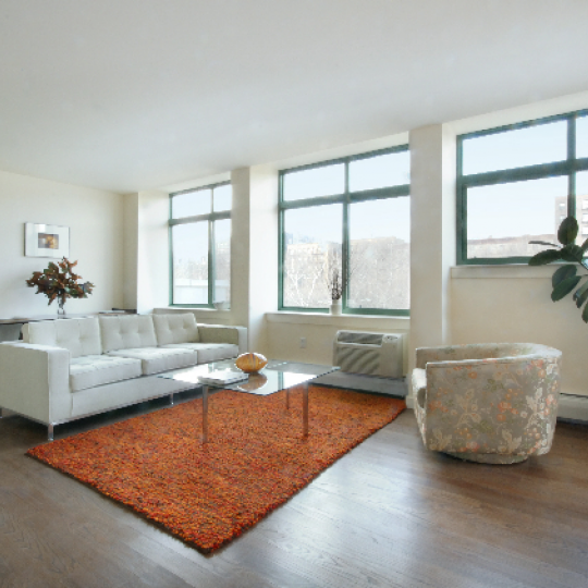 Ellington on the Park - 130 Bradhurst Avenue - Harlem - Living Room