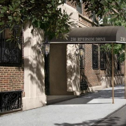 230 Riverside Drive Entrance – Upper West Side NYC Condominiums