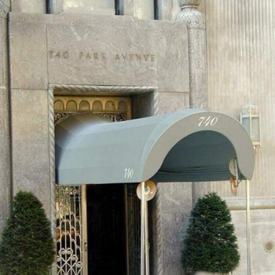 740 Park Avenue Entrance - NYC Condos for Sale