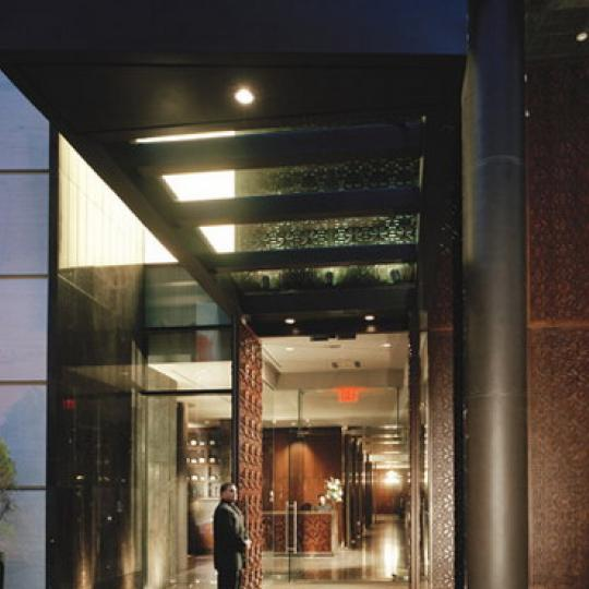 Greenwich Club Residences Entrance - Financial District NYC Condominiums