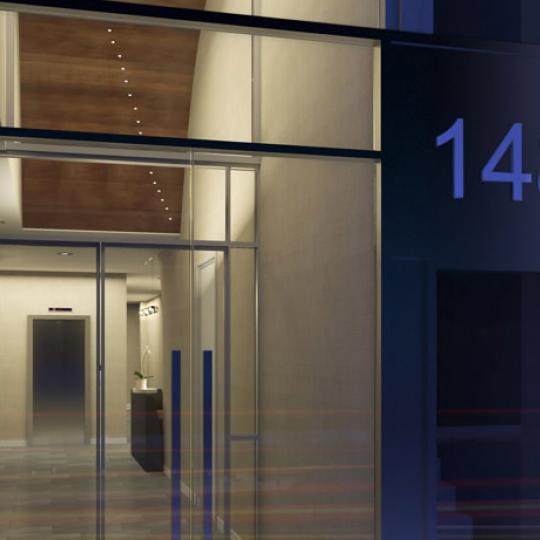 ONE48 Entrance - Manhattan Condos for Sale