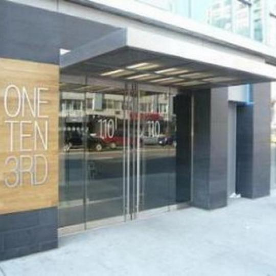 One Ten Third Entrance - East Village NYC Condominiums