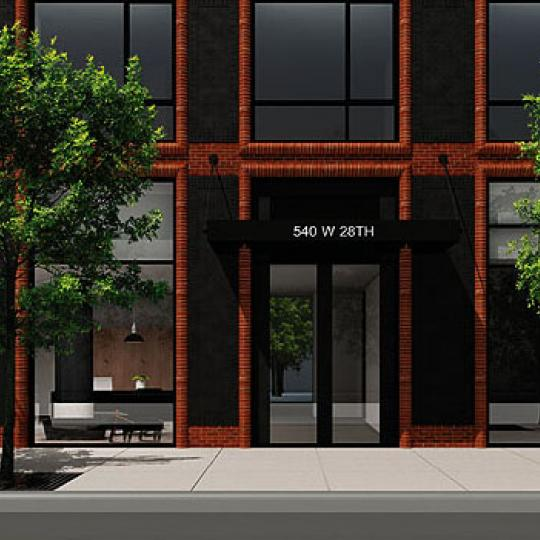 +Art Lobby - Chelsea NYC Condominiums