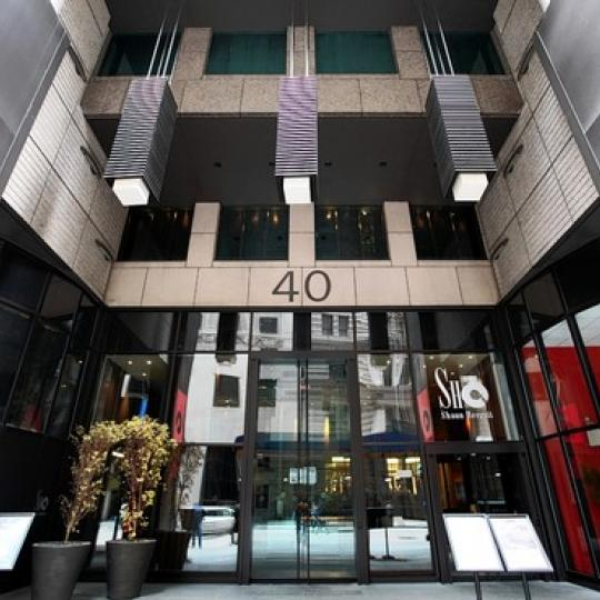 The Setai Entrance - Financial District  NYC Condominiums