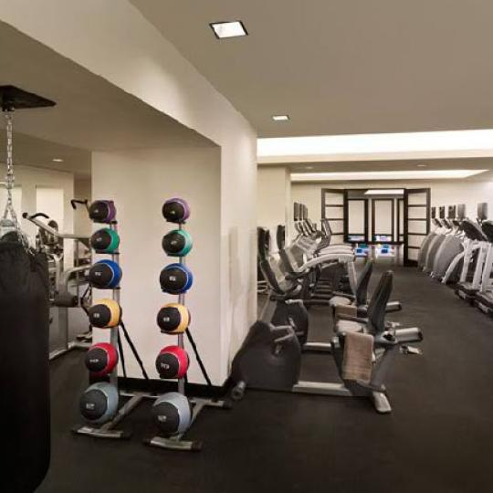 20 Pine Condominium Fitness Center - NYC Condos